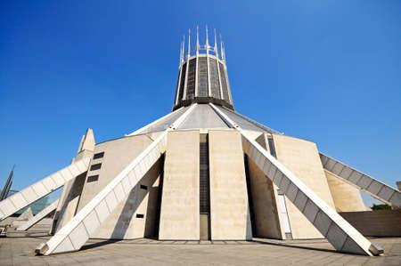 paddys: Roman Catholic Cathedral, Liverpool, Merseyside, England, UK, Western Europe.