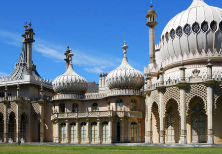 west sussex: Royal Pavilion, Brighton, West Sussex, England, UK, Western Europe. Stock Photo