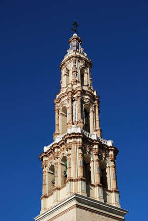 giles: St. Giles church bell tower Iglesia de San Gil, Ecija, Seville Province, Andalucia, Spain, Western Europe.