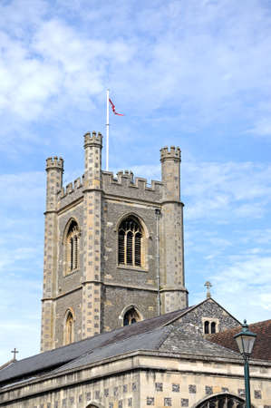 western europe: Parish Church of St Mary the Virgin, Henley-on-Thames, Oxfordshire, England, UK, Western Europe.