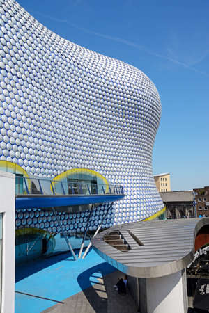 View of the Selfridges building in the Bullring, Birmingham, England, UK, Western Europe. Editorial