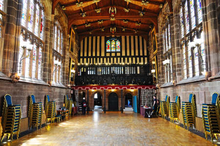 marys: The Great Hall in St Marys Guildhall, Coventry, West Midlands, England, UK, Western Europe.
