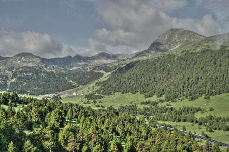 andorra: Mountain in Pyrenees, Andorra