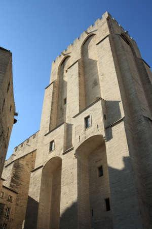 avignon: Palais des Papes in Avignon, Provence region of France