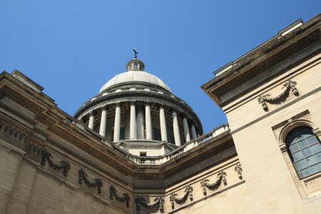 pantheon: Pantheon in Paris, France Stock Photo