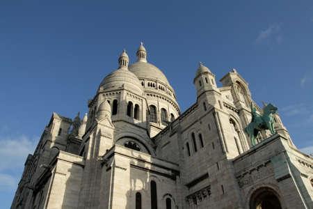 sacre coeur: Basilique du Sacré Coeur à Montmartre, Paris