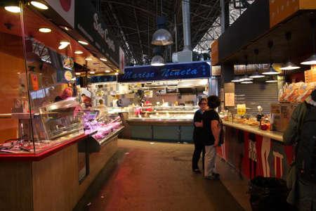 la boqueria: Market la Boqueria in Barcelona Editorial