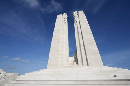 Vimy National Memorial of Canada in North of France.