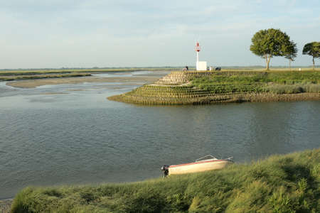 manche: Bay of Somme in Picardie, France Stock Photo