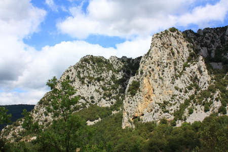 Canyon of Pierre Lys in Pyrenees, Aude, Occitanie in south of France