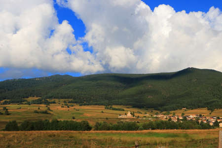 Pyrenean countryside in Capcir, Roussillon in the southern of France
