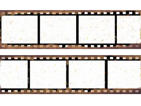 Old film frames Stock Photo