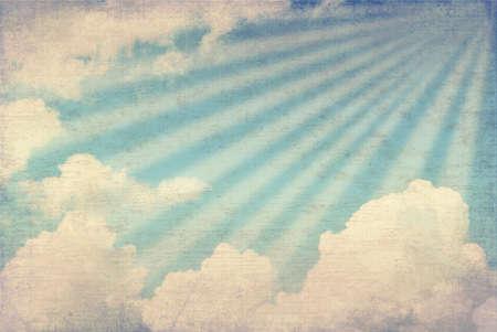 Grunge sky image photo