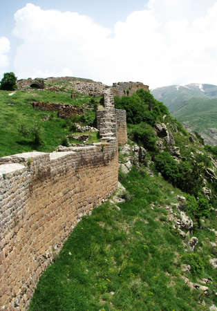 Wall of medieval fortress