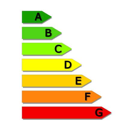 Energy classification Stock Photo - 10106217