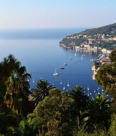 french riviera: Bay of Nice