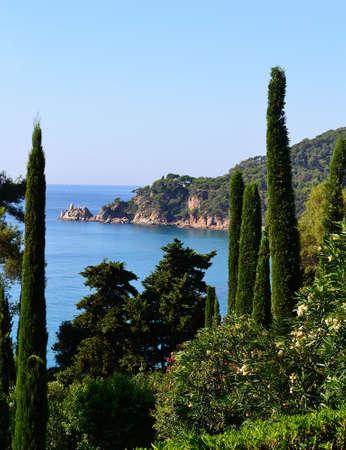 Mediterranean landscape photo