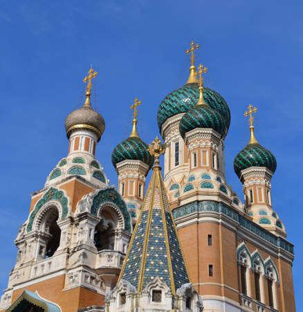 Russian Church in Nice, France photo