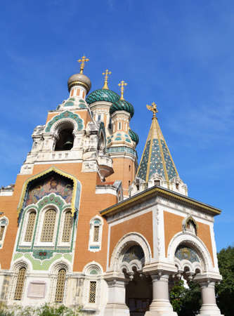 Russian Church in Nice, France Stock Photo - 10957629