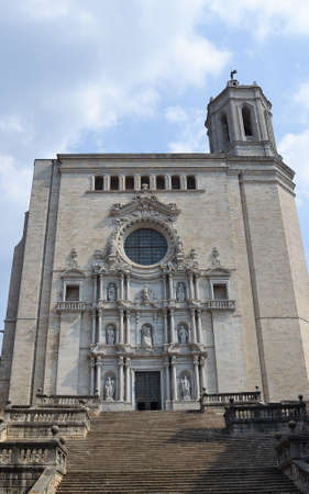 The Cathedral of Girona Stock Photo - 10957660