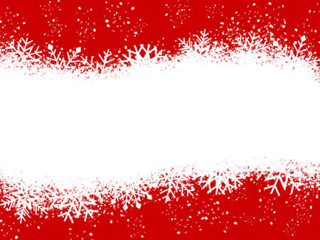 royalty free: Red and White Christmas card Stock Photo