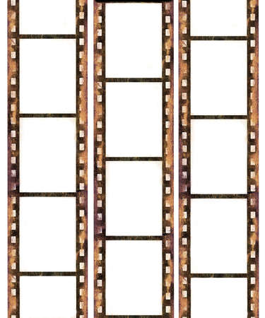 film strip: Grunge film frames