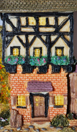 Miniature house photo
