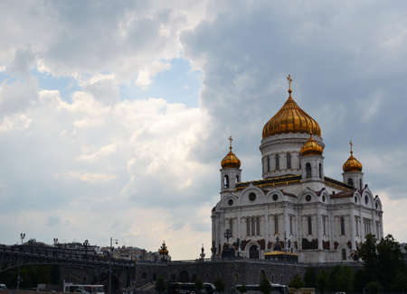 Christ the Savior Cathedral in Moscow, Russia Stock Photo - 14412215