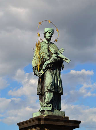 St  John of Nepomuk statue Stock Photo - 15225435
