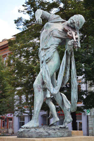 gloria: Beautiful statue in Prague