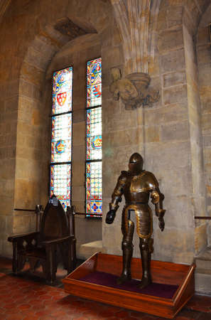 Interior of medieval castle Stock Photo - 15180912