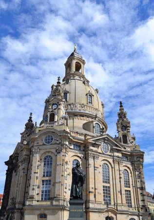 frauenkirche: Frauenkirche in Dresden Deutschland