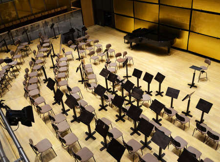 Modern music hall Editorial