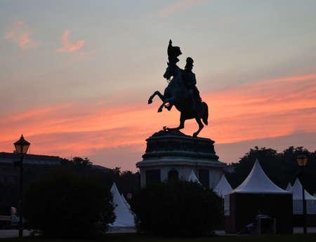 hofburg: Statue at Hofburg