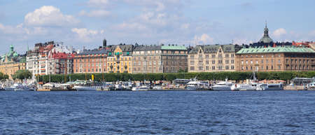 Panoramic view of Stockholm, Sweden photo