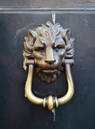 Decorative antique door handle