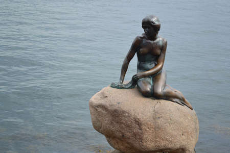 Little Mermaid in Copenhagen, Denmark