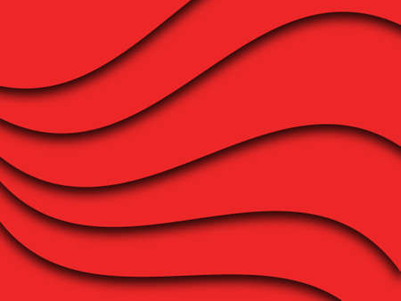 Abstract red wave background photo