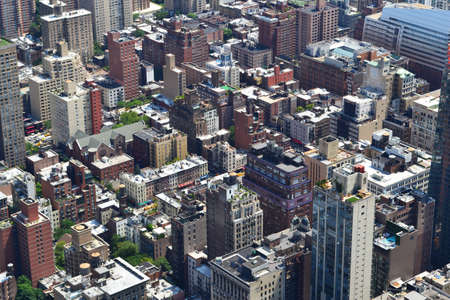 New York City bird eye view