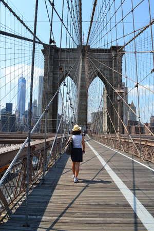 Brooklyn bridge, New York photo
