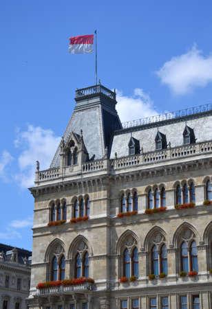 rathaus: Rathaus - Vienna Town Hall, Austria Editorial