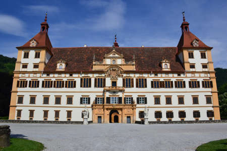 resides: The Eggenberg castle in Graz, Austria Editorial