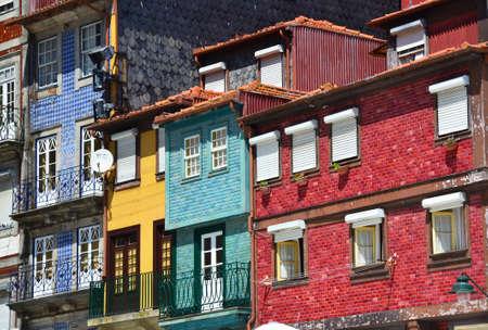 case colorate: Case colorate di Porto Ribeira