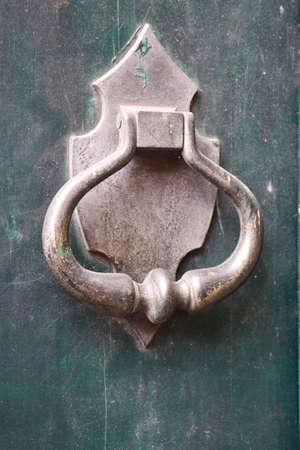 manejar: Decorativo manija de la puerta antigua