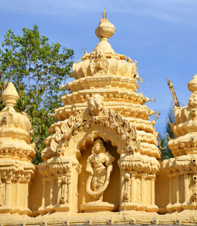 The temple of Mysore palace in India