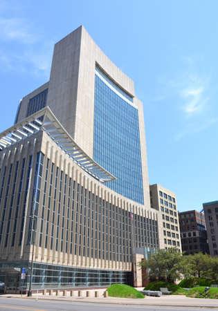 Minneapolis Courthouse building, Minnesota, USA Stock Photo
