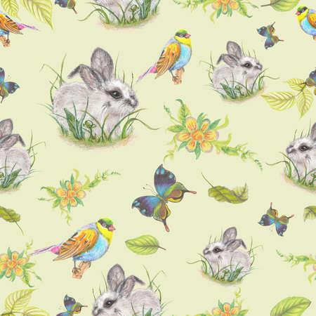 fluffy: Fluffy bunny pattern