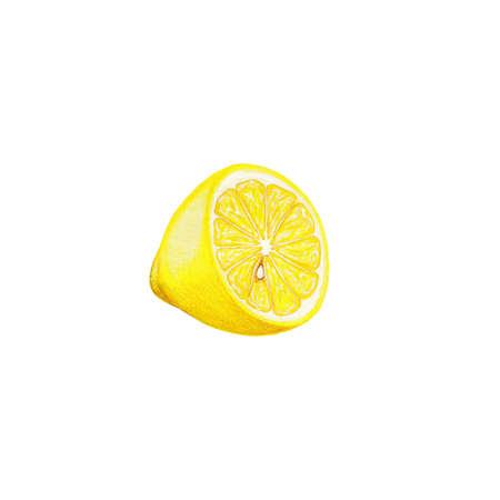 limon: Isolated lemon