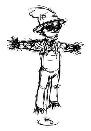 scarecrow: Scarecrow Sketch