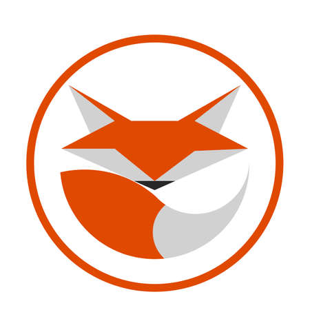 foxy: Fox Template Illustration